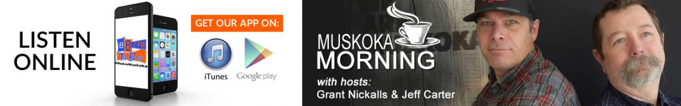 Muskoka Morning with Grant and Jeff