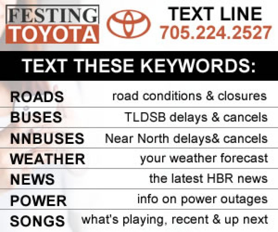 Festing Toyota Text Line