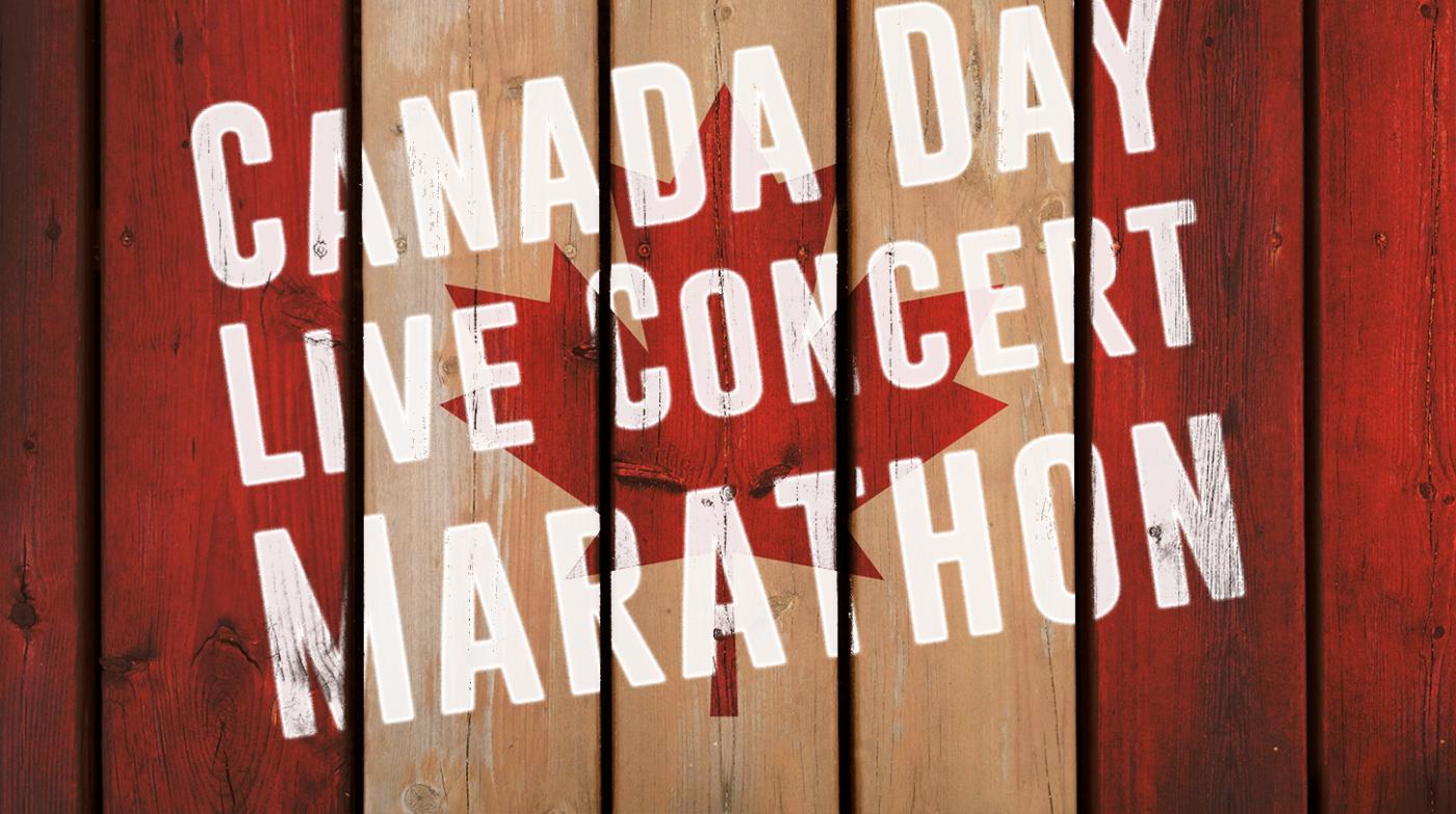 Canada Day Live Concert Marathon