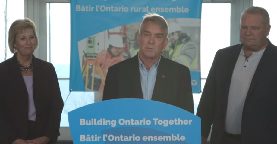 Province Announces $5.8 Million In Funding For Area Municipalities