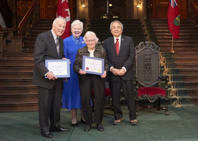 Gravenhurst Couple Receive Heritage Award