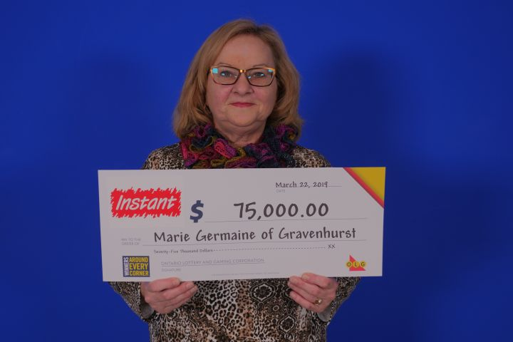Gravenhurst Woman $75,000 Richer