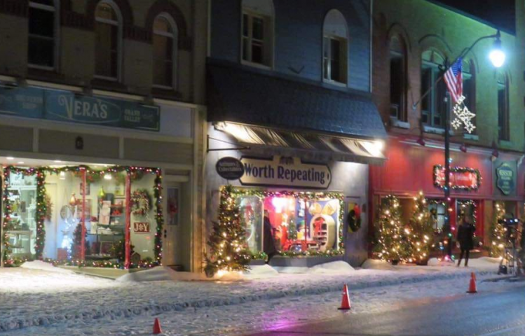 Another Hallmark Film Being Shot in Bracebridge