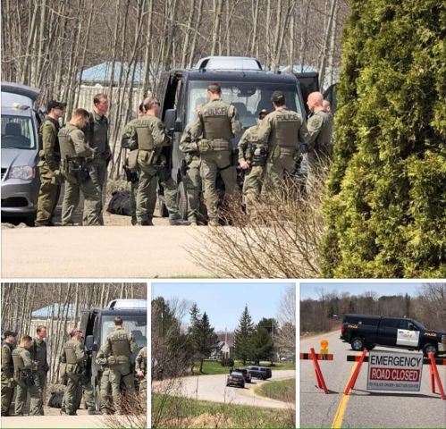 OPP Bring Illegal Occupation in Wahta To A Peaceful Conclusion