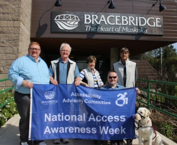Bracebridge Marks National Access Awareness Week