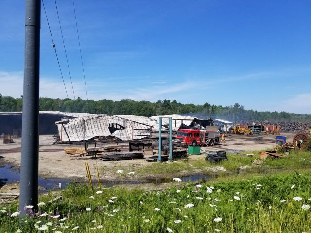 Still No Word On Cause Of Timber Mill Fire