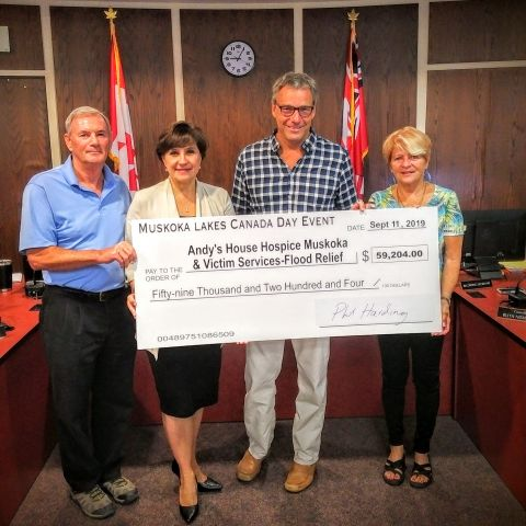 Muskoka Lakes Event Supports Andy's House & Muskoka Victim's Services