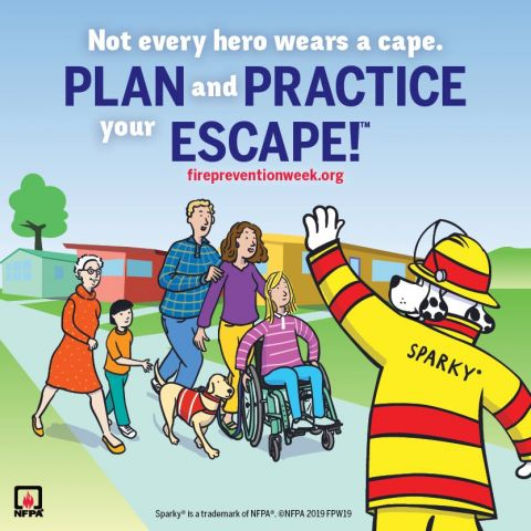 Fire Prevention Week Stresses Making An Escape Plan