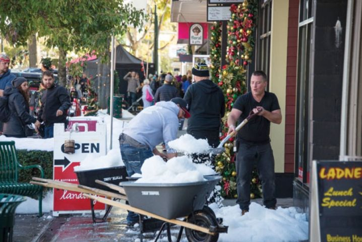 Hallmark Filming in Bracebridge This Weekend
