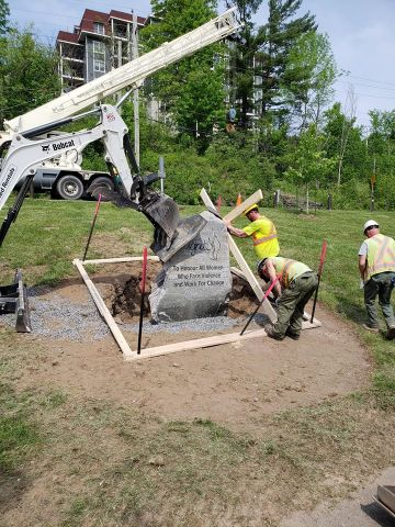 Ignite Monument Unveiling Today In Bracebridge
