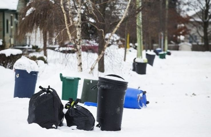 Garbage Pickup Rescheduled for Saturday For Anyone Missed Due to Bad Weather