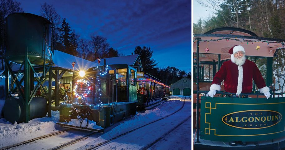 Portage Flyer Christmas Train This Saturday