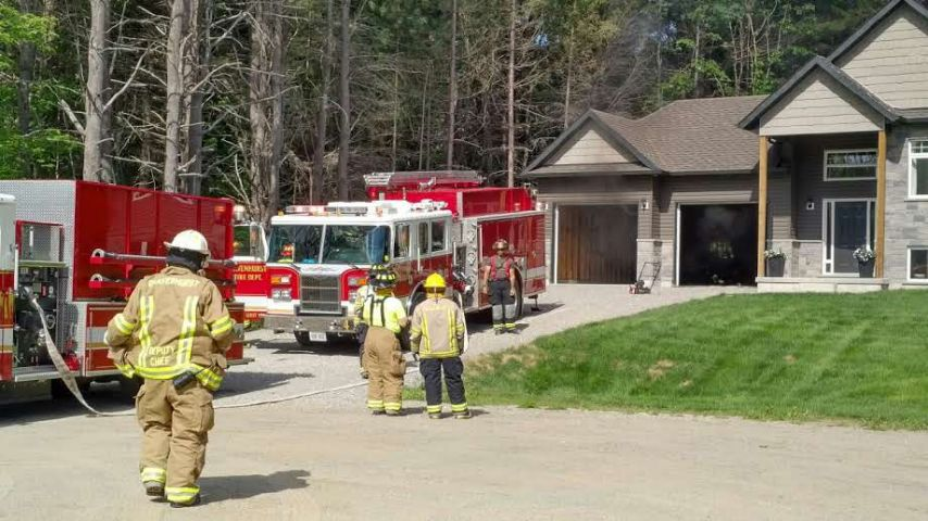 Gravenhurst Fire's Quick Response Limits Damage in Garage Fire