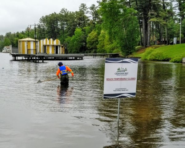 All Beaches Remain Closed In Gravenhurst