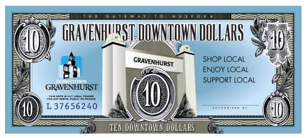 Gravenhurst Dollars Available Online