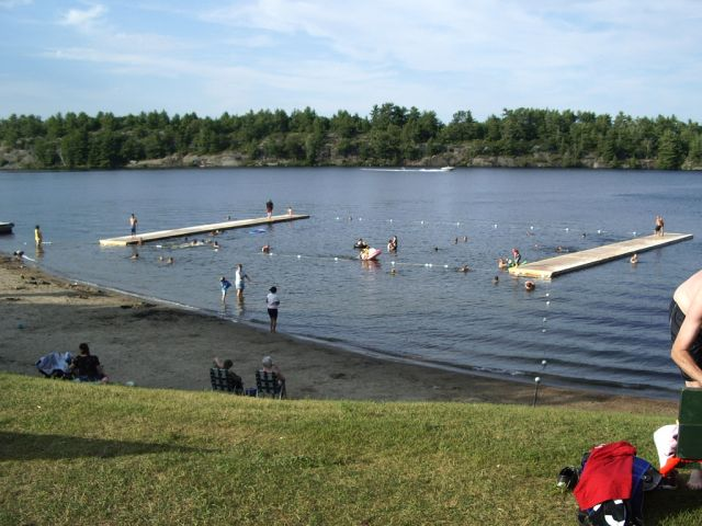 Gull Lake Park Beach Safe For Swimming