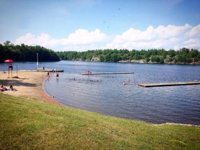 Gull Lake Beach Open For Swimming