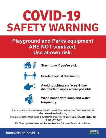 Safety Warning For Parks & Playgrounds