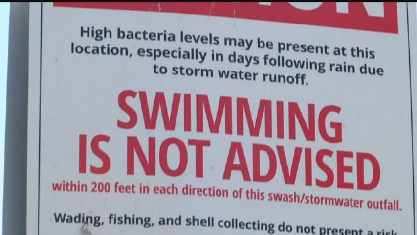 Windermere Beach Under Swim Advisory