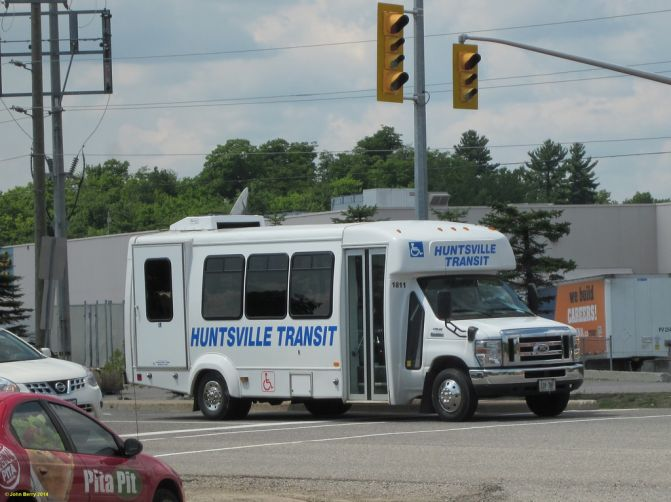 Province & Feds Contribute To New Transit Project In Huntsville