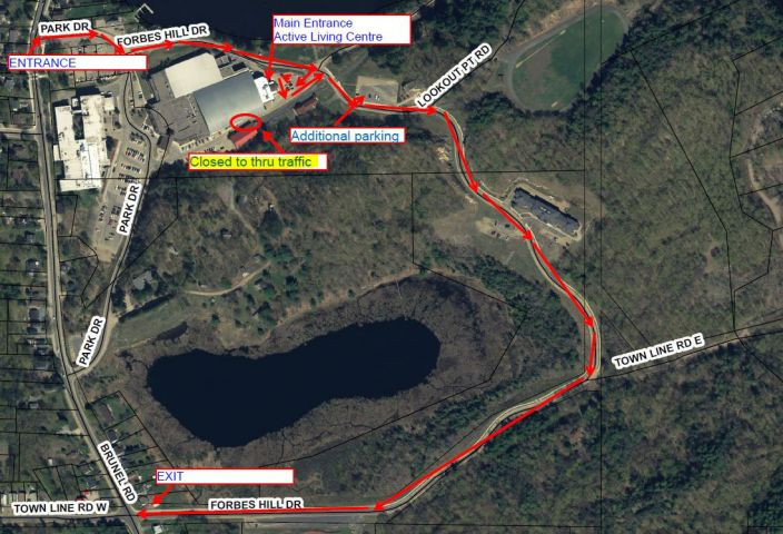 Road Closure At Canada Summit Centre