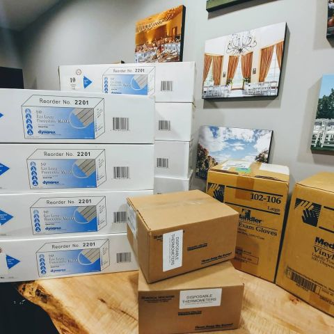 Local Resort Contributes Thousands of Masks and Supplies to Area Hospital
