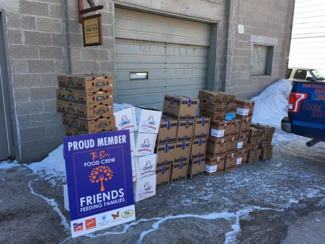 Local Companies Donate To Area Food Banks