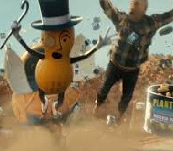 Mr Peanut Dies Tragically