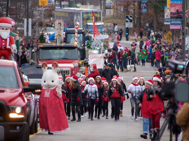 Gravenhurst parade goes back to nature