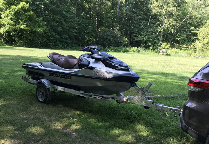 Police Looking For Stolen Seadoo & Trailer