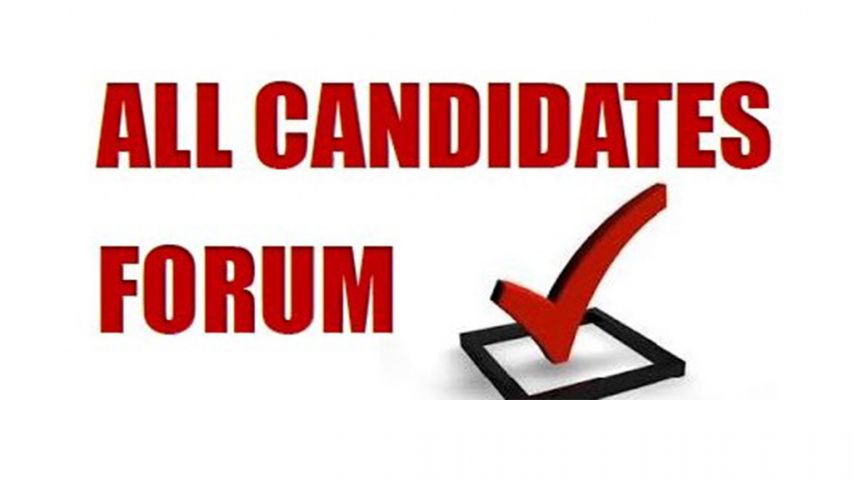 All Candidates Meeting September 17th