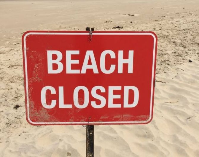 Gull Lake Park Beach Closed After More Sharps Found