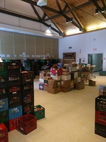 Manna Food Drive A Huge Success