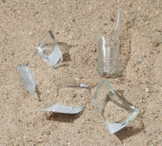 Despite Thorough Cleaning, Beachgoers Still Finding Glass