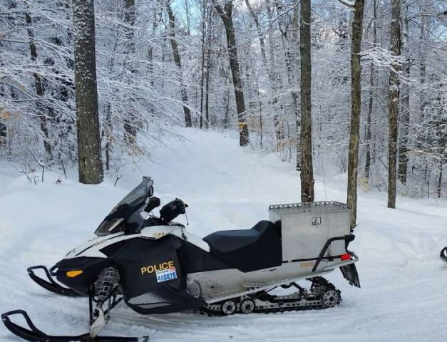 11 Year Old Crashes Snowmobile, Suffers Serious Injuries