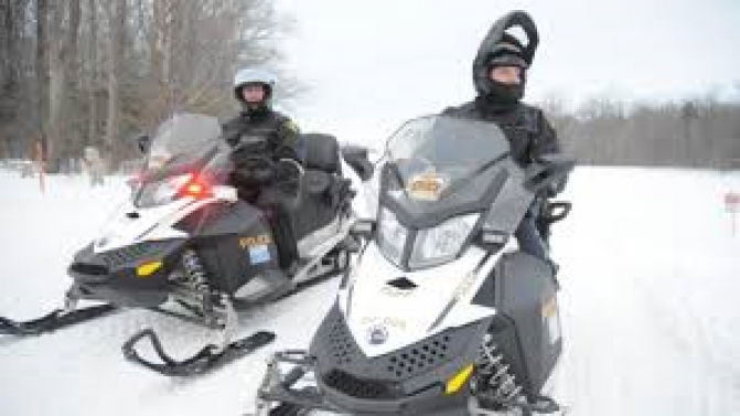 Travelling On Frozen Lakes Accounts For Half Of All Snowmobile Deaths