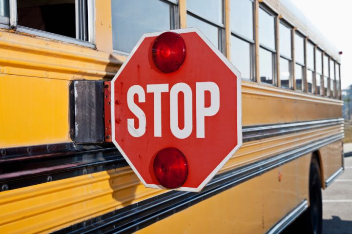 Failing To Stop For School Buses Will Cost You $400 + 6 Demerit Points