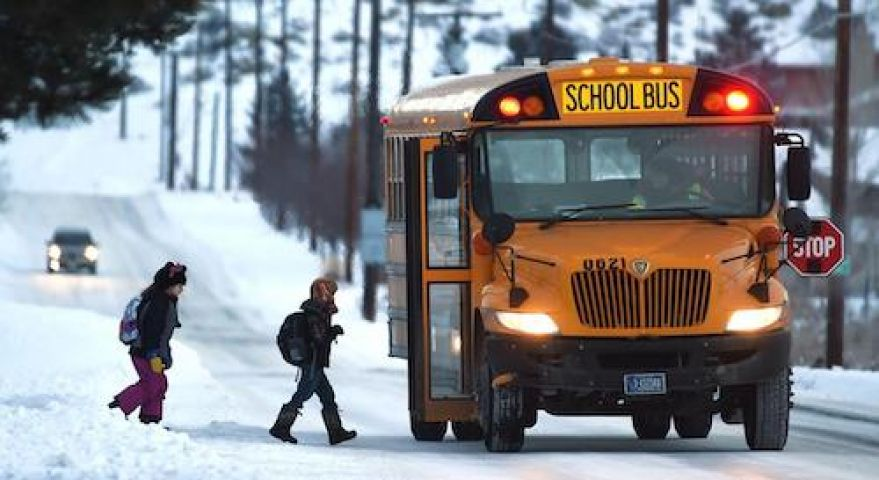 OPP Warn Of Huge Fines For Passing Stopped School Buses