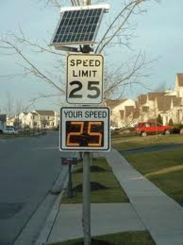 District Spends $138,000 on Speed Activated Signs