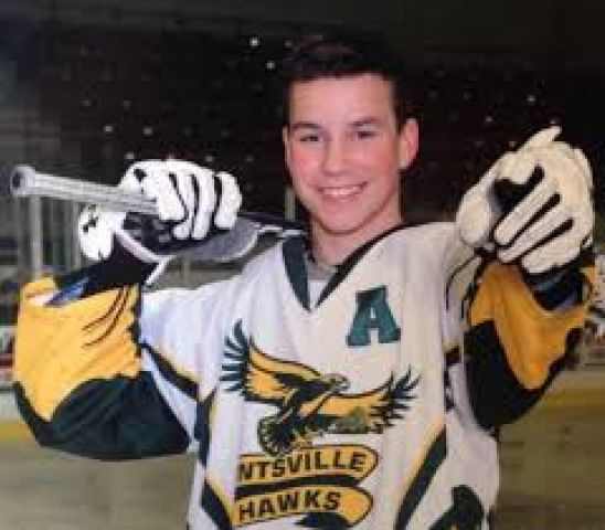 Junior C Hawkes Make Donation in Memory of Former Teammate