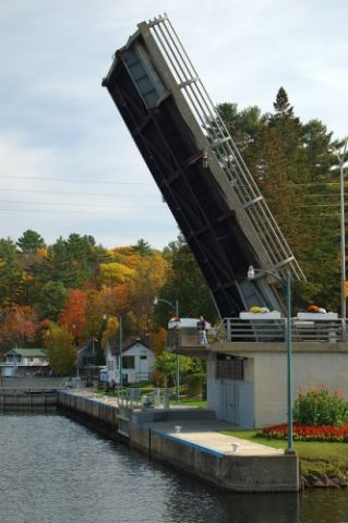 Bridge Repairs At Port Carling Locks Today