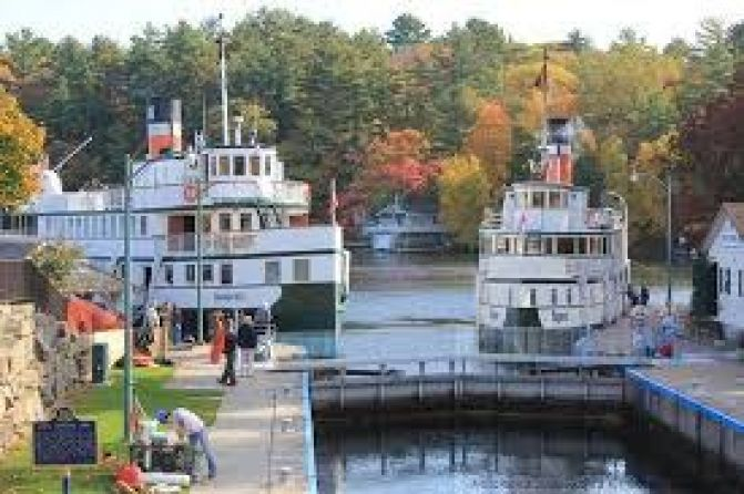 Port Carling Locks Open After Restoration Work is Completed