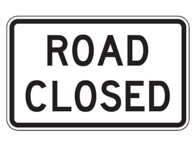Earls Road Closed Until November