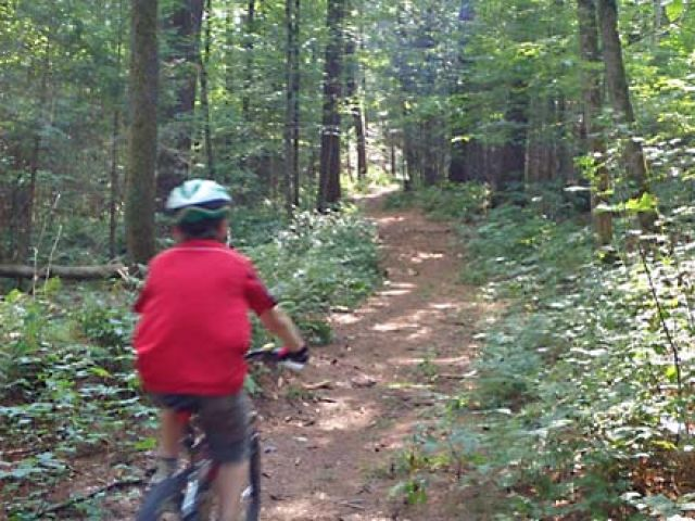New Mountain Bike Trails Opened At BRMC
