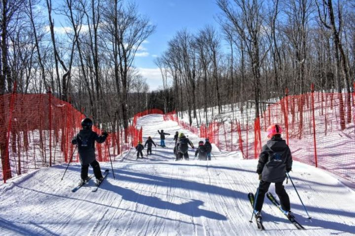 Hidden Valley Ski Area Opens New Run
