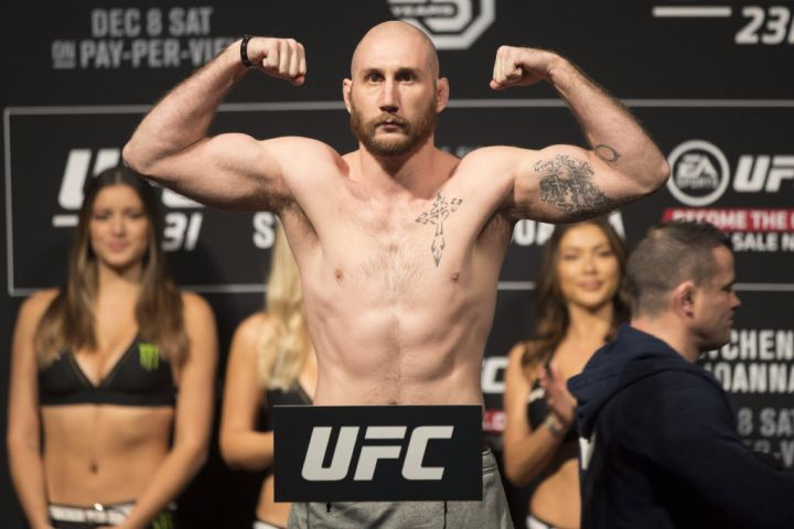 Huntsville's Kyle The Monster Nelson Hopes To Bring Back His First UFC Win This Weekend