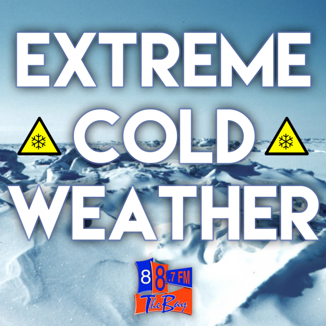 Extreme Cold Warning Issue Tonight Into Friday