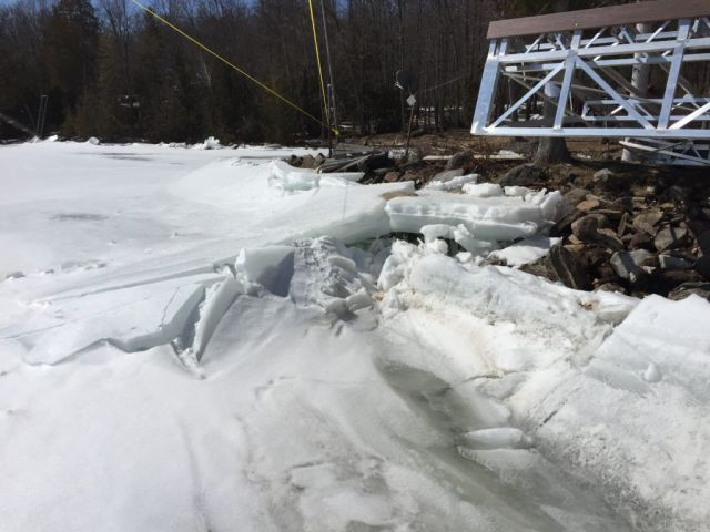 Muskoka Lakes Advises Residents To Watch For High Water & Ice