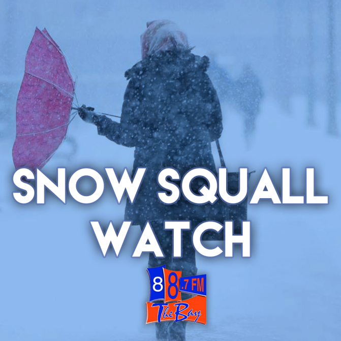 Snow Squalls Possible Today