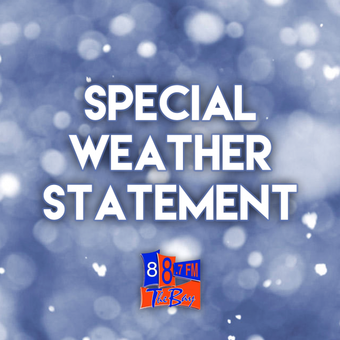 Special Weather Statement In Effect